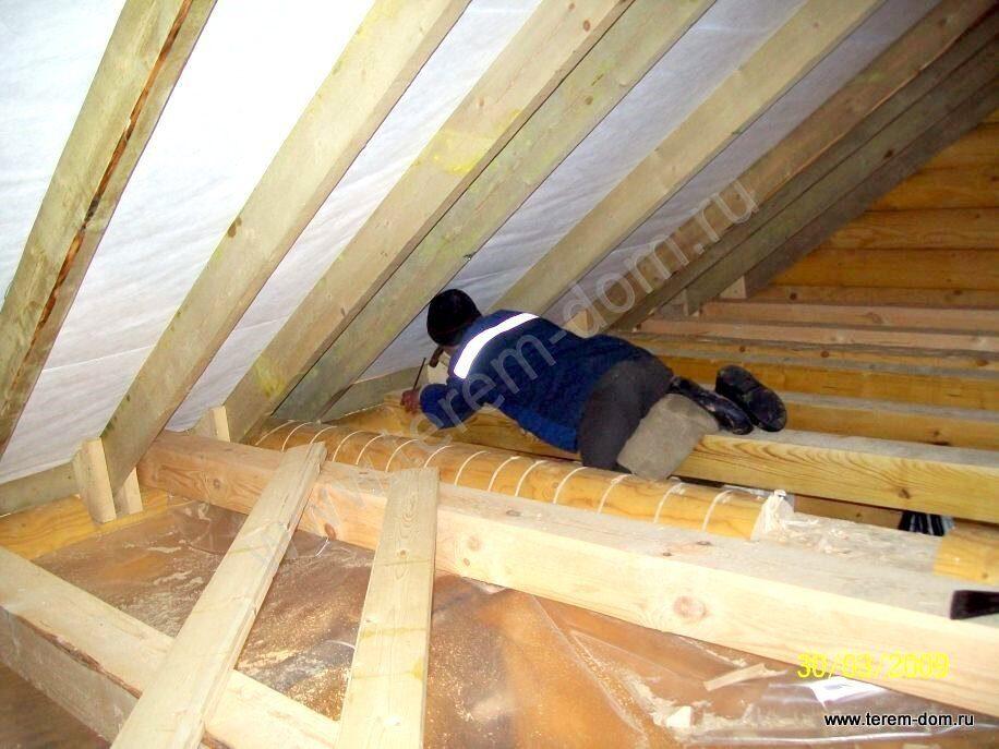 Крыша и потолок для частного дома своими руками 91