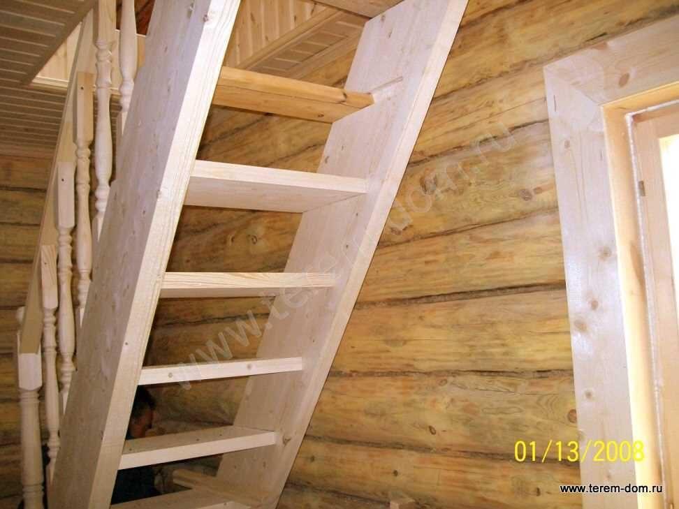 Лестница на мансарду своими руками фото варианты 630