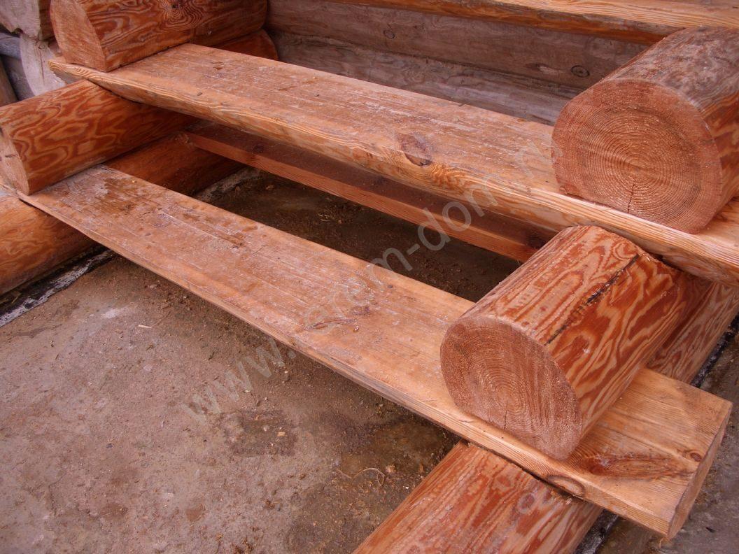 Как сделать лестницу своими руками из бревна