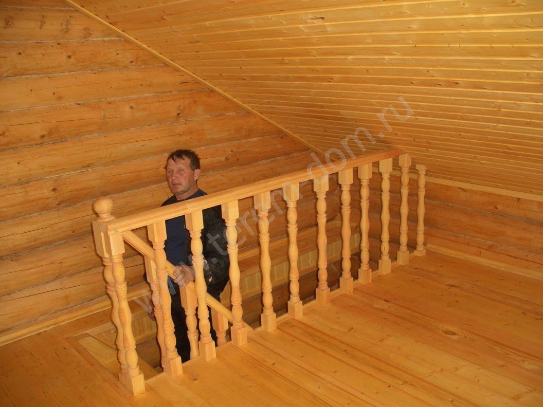 Как сделать лестницу на чердак бани