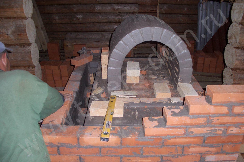 Как выложить русскую печь в доме