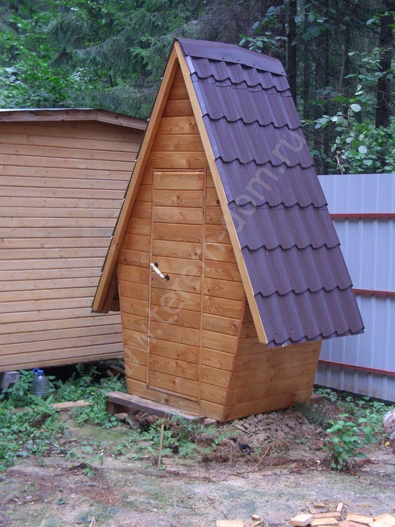 Деревянный туалет в частном доме своими руками фото 80