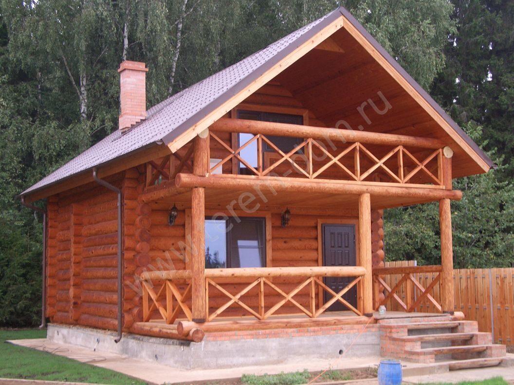 Балконы для деревянных домов. - дизайнерские решения - катал.