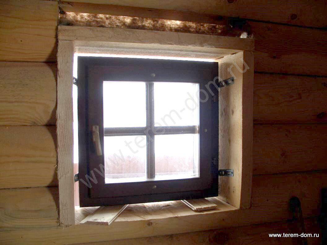 Деревянные окна для бани своими руками 890