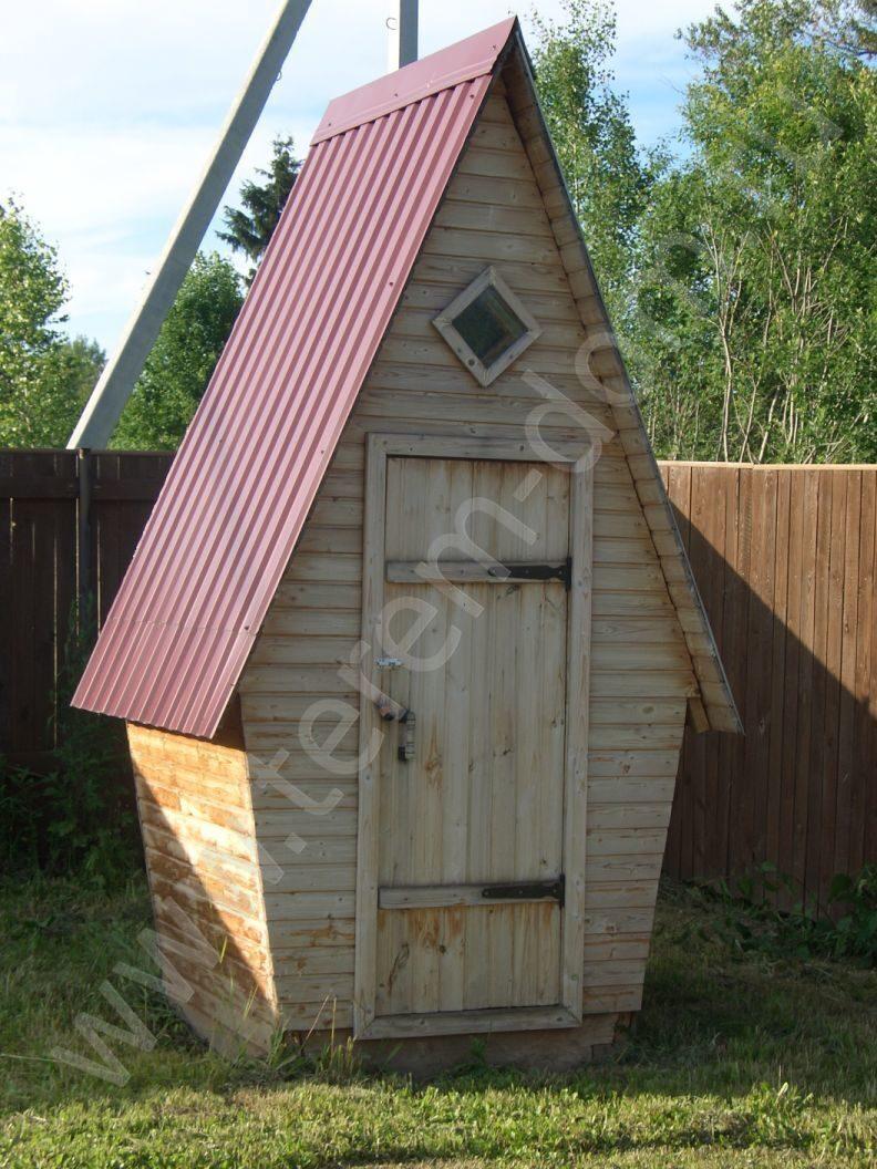 Уличный домашний туалет своими руками 69