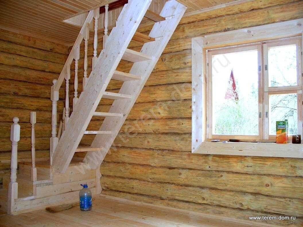 монтаж лестницы на мансарду 1.9.