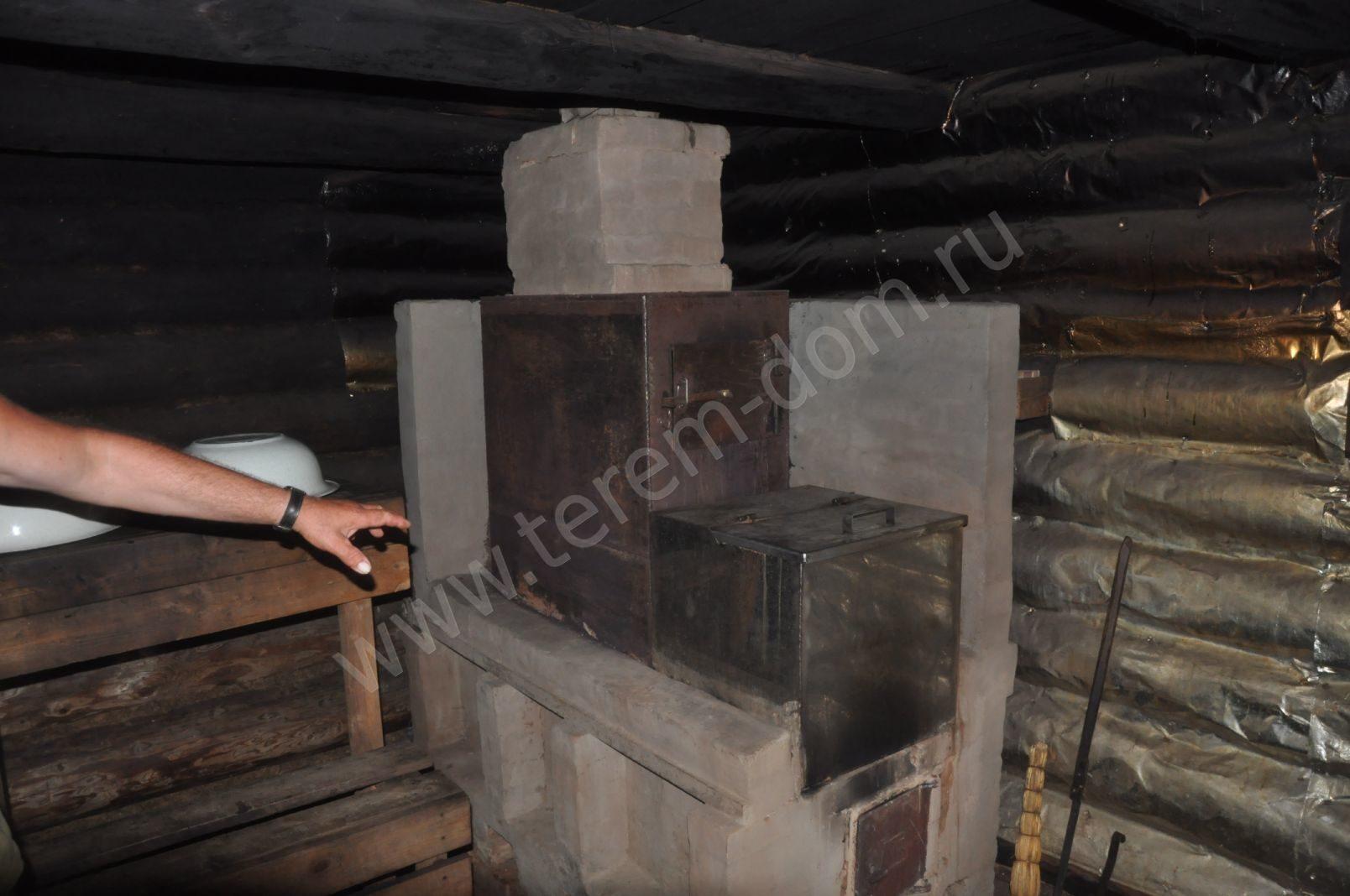 41Фото простая печь для бани своими руками