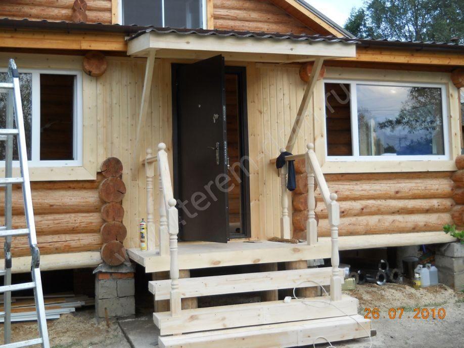 Фото крыльца к деревянному дому фото своими руками 64