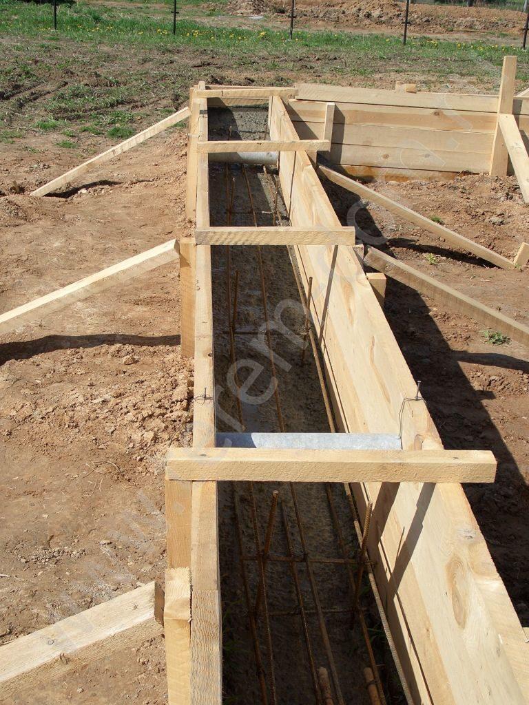 Строим дом из бруса своими руками от фундамента до крыши фото 50