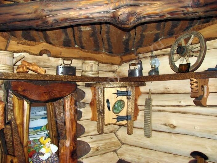 Баня под старину своими руками